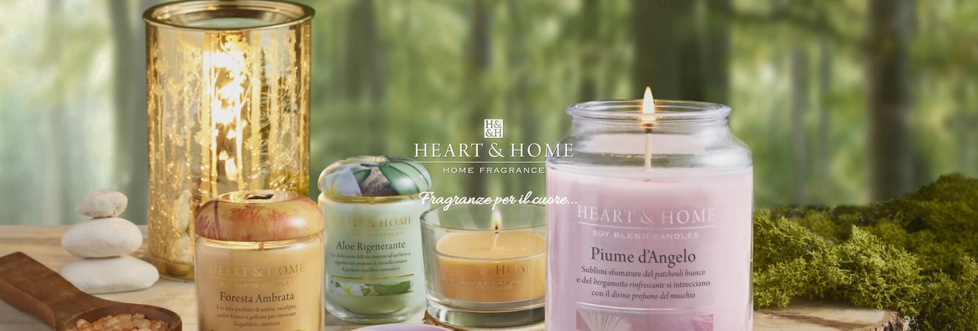 Heart Home Candele.Heart Home Candele In Cera Di Soia Ecosostenibili La Galleria